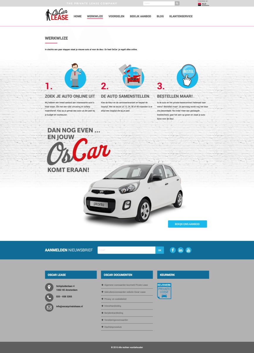 Oscar Lease website